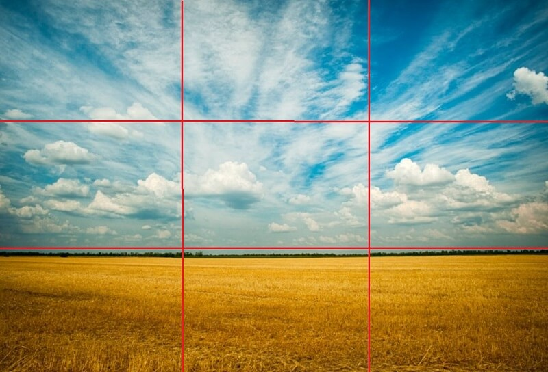 Digital Signage & The Rule of Thirds
